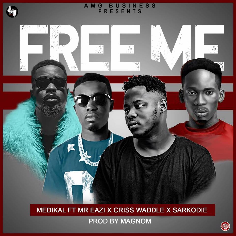"LISTEN UP: Medikal's ""Free Me"" features Mr. Eazi, Sarkodie and Criss Waddle"