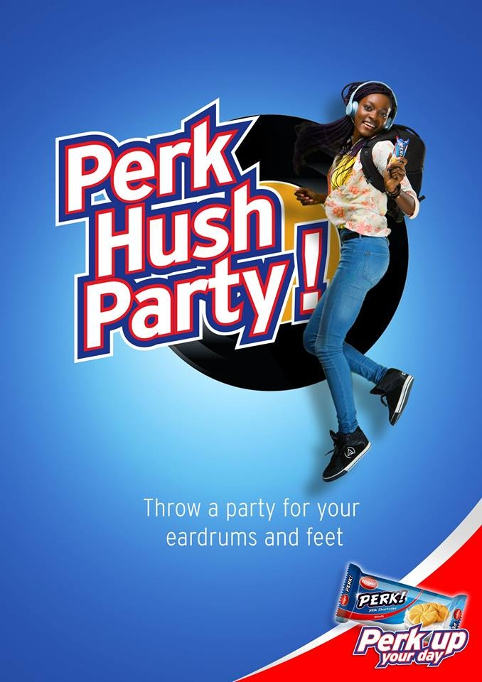 All Set for Perk Hush Party Tomorrow