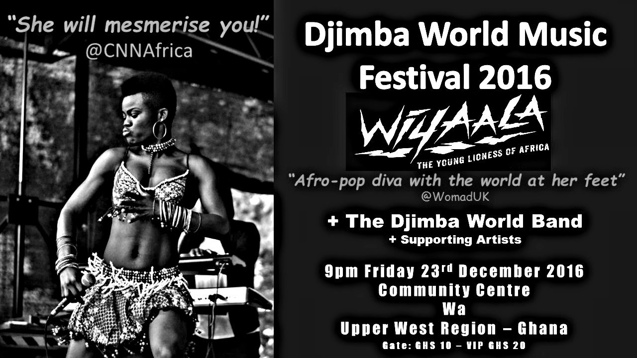 Wiyaala to Headline Djimba World Music Festival