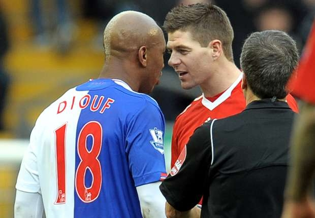 'Gerrard is nothing and I told him so' - Diouf hits out a Liverpool legend