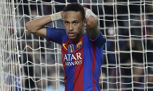 Spain's public prosecutor calls for Neymar to be sent to prison for two years
