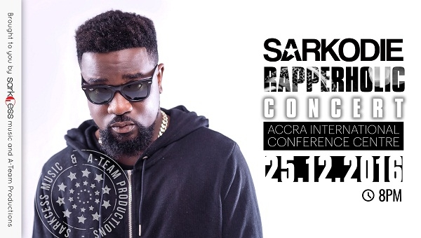 Sarkodie's Rapperholic Concert 2016 launched