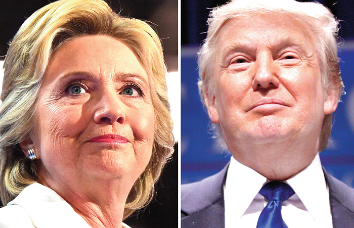 Hillary, Trump in close race for White House