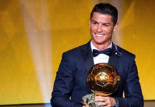C Ronaldo Wins Ballon d'Or