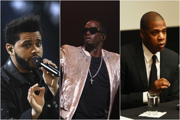 Diddy, The Weeknd and Jay Z Among World's Highest Paid Musicians of 2016