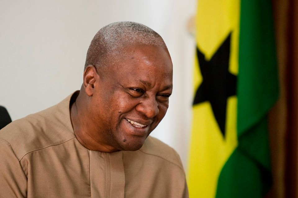 Mahama withdraws request to keep state bungalow