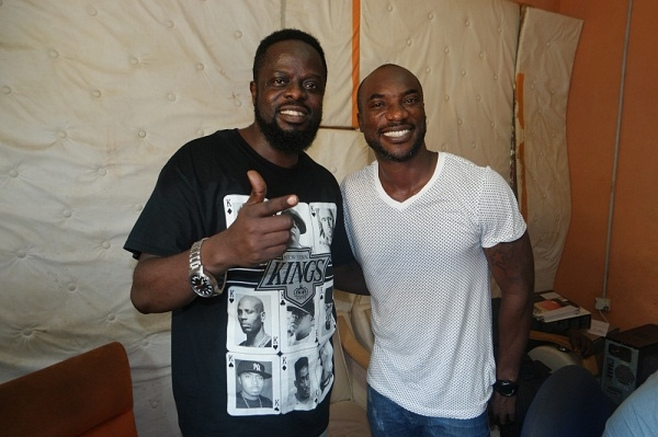Photos: Ofori Amponsah And Kwabena Kwabena Finally Hit Studio For Christmas Song