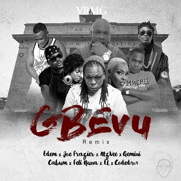 Listen UP: Edem - Gbevu featuring Joe Frazier, MzVee, Gemini, Cabum, Feli Nuna & EL