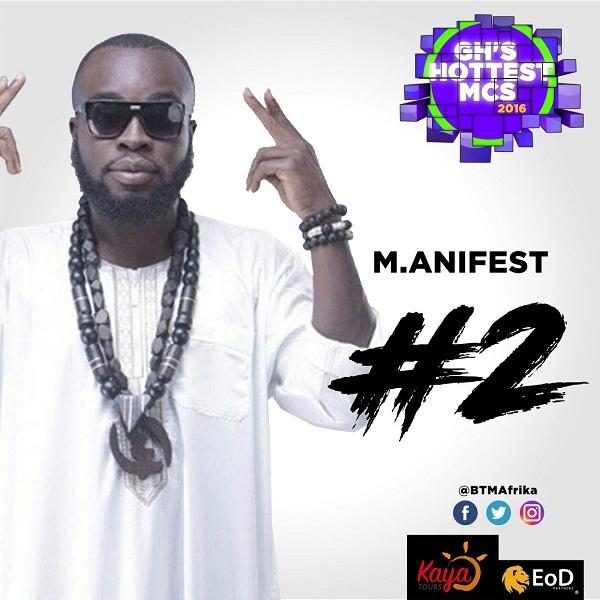 Sarkodie, M.anifest, Tee Phlow, Others Make BTM Afrika's GH Hottest MCs 2016