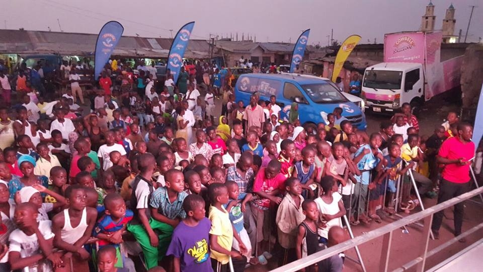 Massive Turnout at Happy FM Cowbell AFCON  Screening in Sabon Zongo