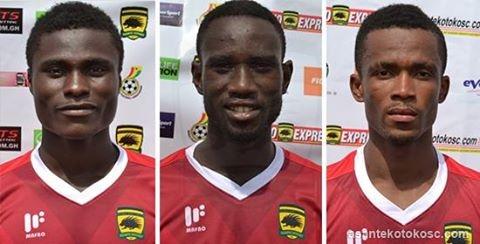 Salaries of three Kotoko players slashed