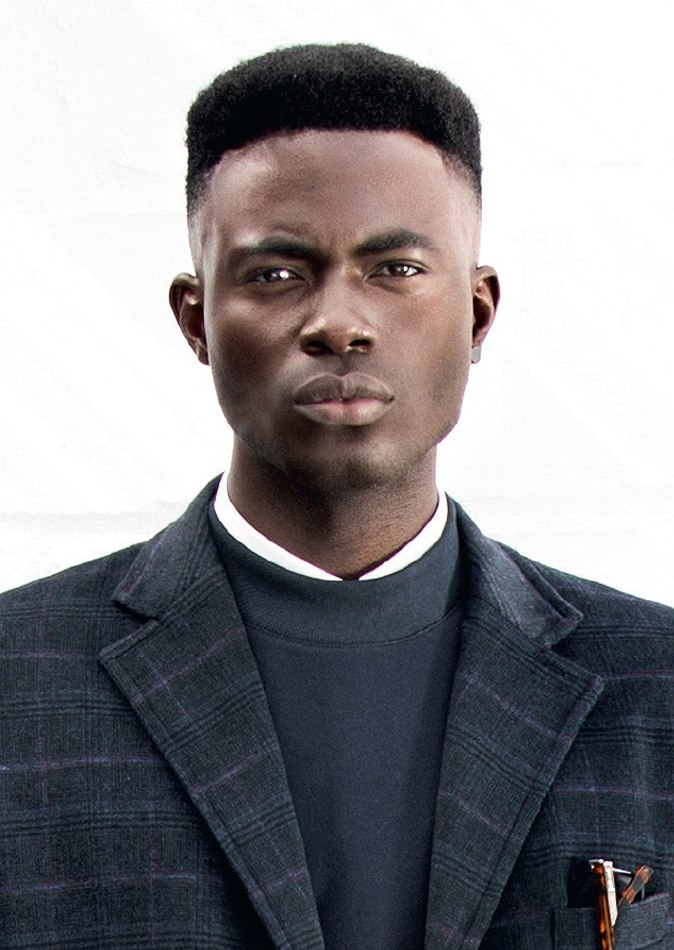 Model Blasts Sarkodie for Using His Picture Without Permission