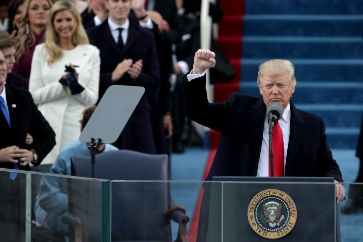 President Trump has officially taken over @POTUS