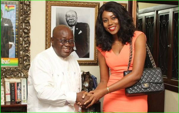 How John Dumelo, EL, Yvonne Nelson others Reacted to Nana Akufo-Addo's Inauguration