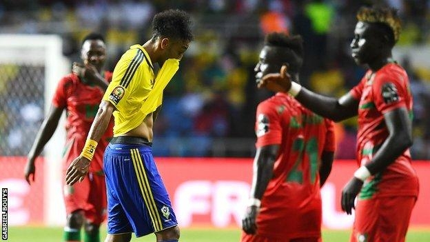 #Afcon2017: Guinea-Bissau shock hosts Gabon to secure draw