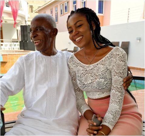 PHOTO: Yvonne Nelson Announces Her Father's Death