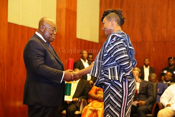 2 MPs sue Otiko Djaba over her appointment