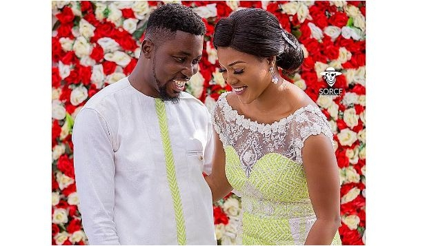 PHOTOS From A Plus And Akosua Vee's Wedding Ceremony
