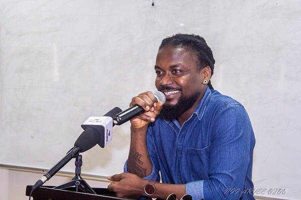 Samini lectures University of Ghana Business School students
