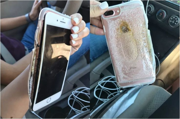 Apple is investigating this footage of an exploding iPhone 7 Plus