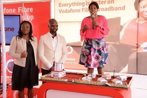 Vodafone Ghana launches fibre optic broadband