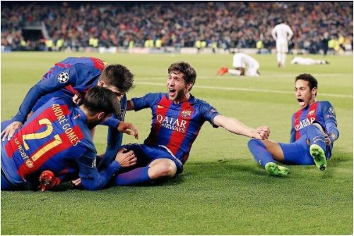 Barcelona makes history with miraculous 6-1 comeback win over PSG