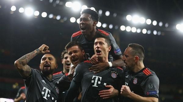 Bayern Munich Decimate Arsenal In London