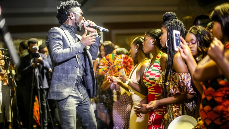 PHOTOS: Bisa Kdei sells out Meridian Grande with Ghana @ 60 Independence Celebration