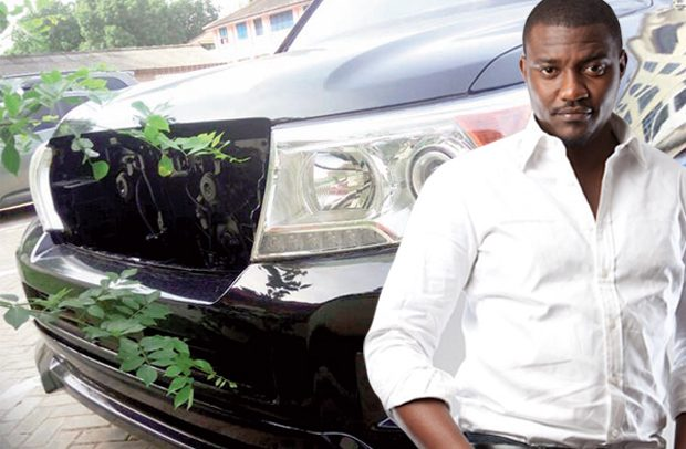 John Dumelo Caught With State Car?