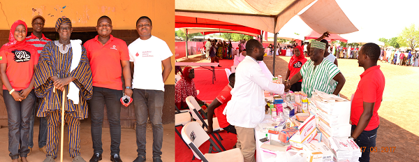 Tolon Chief Applauds Vodafone for 'Healthfest'