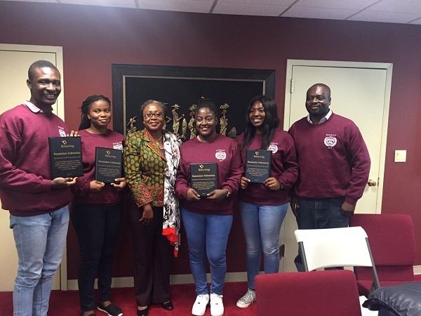 Ghana excels at Harvard Model UN
