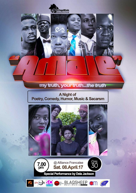 "Village Minds Production and Alliance Francaise present ""AMALE"" April 8"