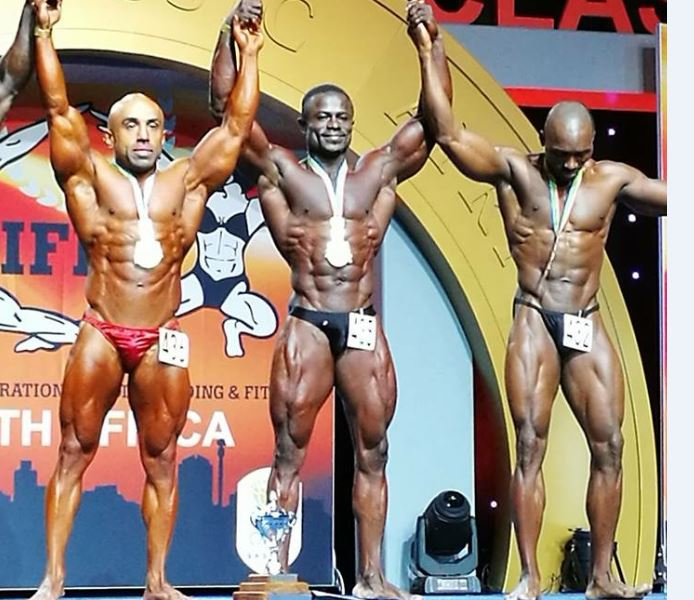 Michael Parnell Wins Gold As Ghana Makes Waves At 2017 ARNOLD CLASSIC Bodybuilding Championship