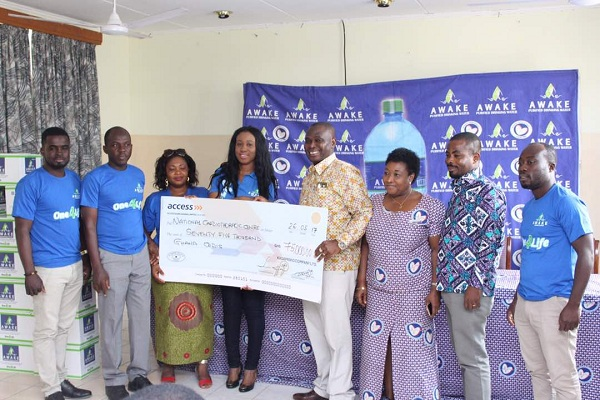 Awake Water's donation to Cardio Centre reaches GHc350,000