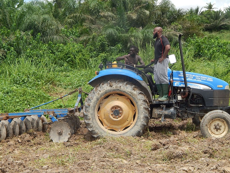 PHOTOS: Award winning musician Trigmatic Starts Work on his 4 Acre Rice Farm