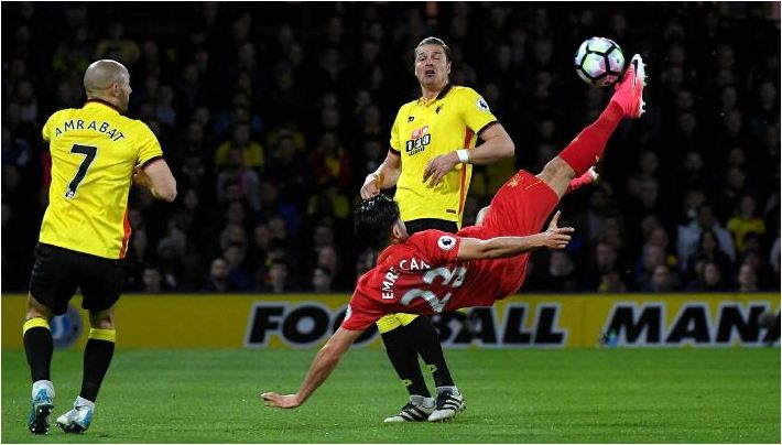 WATCH: Goal of the Season: Was Emre Can's strike the best so far?