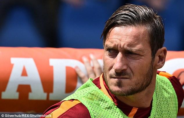 Francesco Totti will retire at the end of the season