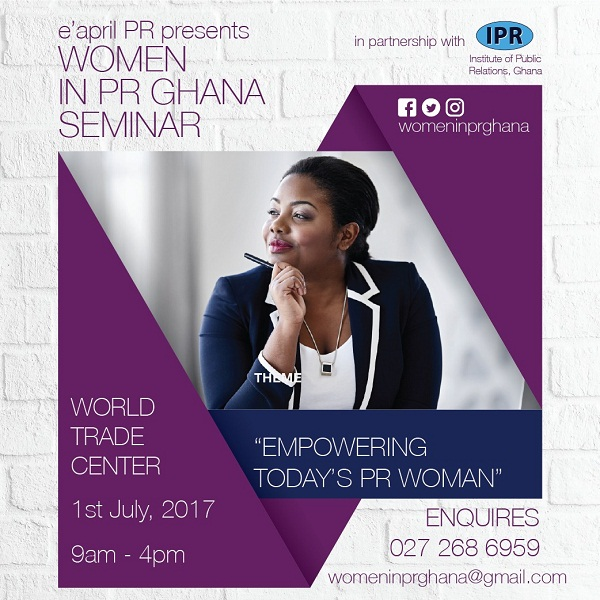 1st Women in Public Relations Ghana Seminar to take place in July