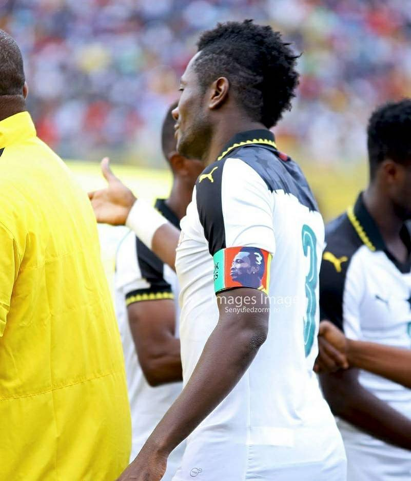 PHOTO: Here's Why Asamoah Gyan Did Not Hand Over the Captain's Armband to Dede Ayew
