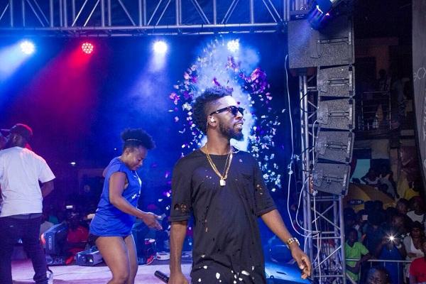 PHOTOS: Bisa Kdei Begins Road 2 Konnect Concert 2017