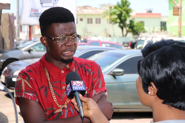 Rapper Kosi Bone Donates to Okomfo Anokye Teaching Hospital