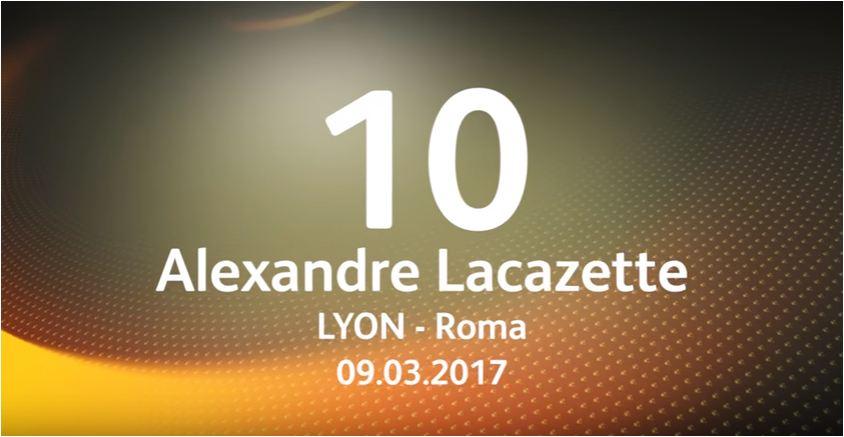 WATCH: Top ten 2016/17 UEFA Europa League goals
