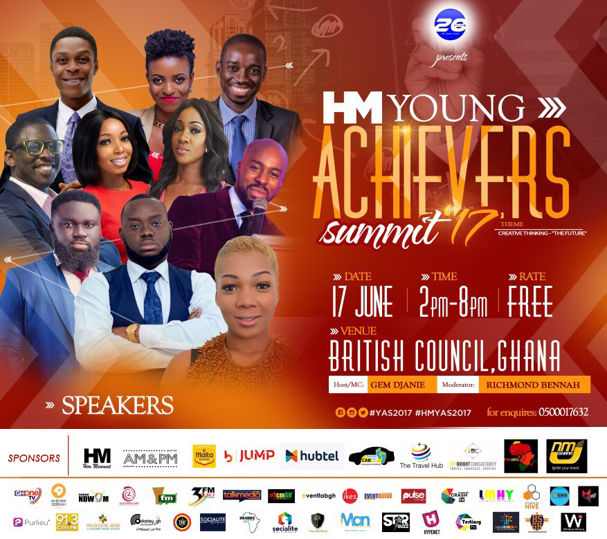 YFM's Caroline Sampson and Mic Smith to Speak at HM Young Achievers Summit 2017