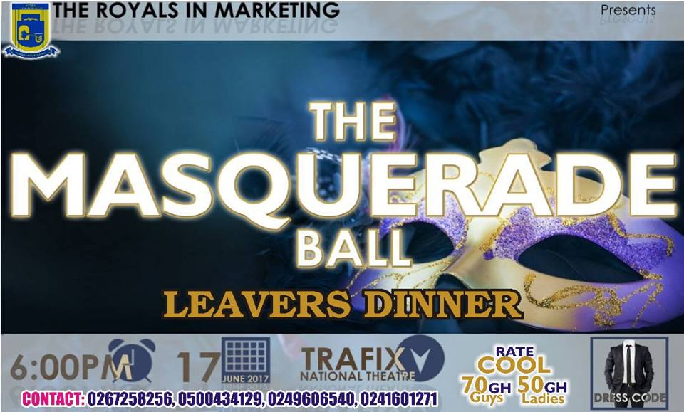 Marketing Class of Accra Technical University to thrill Graduates with The Masquerade Ball