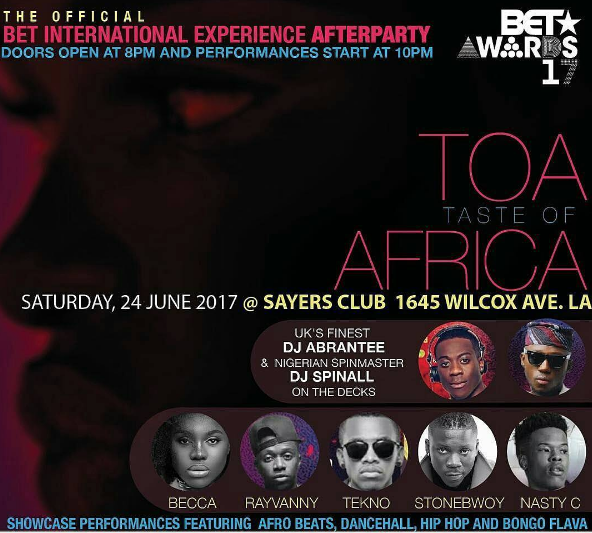 Zylofon Media Label Mates Becca And Stonebwoy To Dazzle At B.E.T Experience