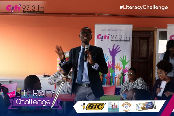 Citi FM Launches 'The Literacy Challenge'