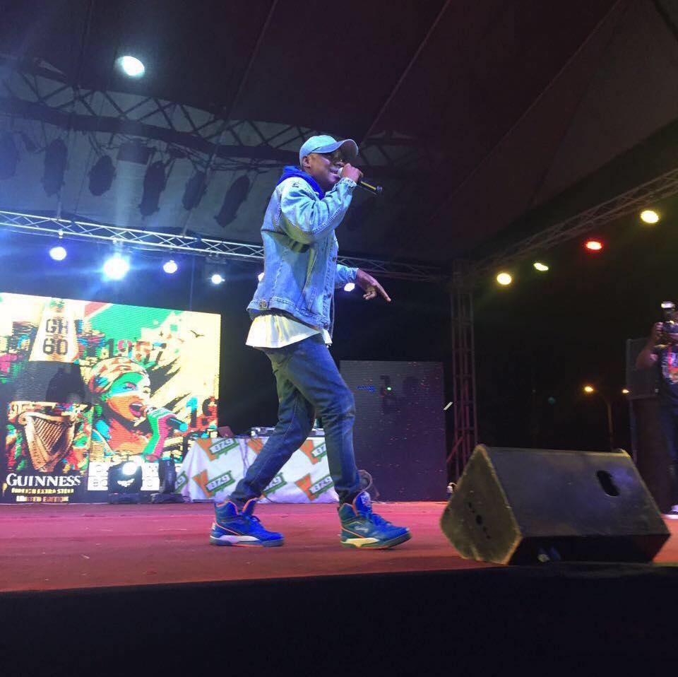 #YFMAreaCodesJAM: Denk iLLs thrills Patrons at Kumasi City Mall
