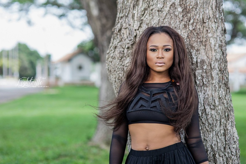 How Christabel Ekeh's Family Reacted to her Trending Photos