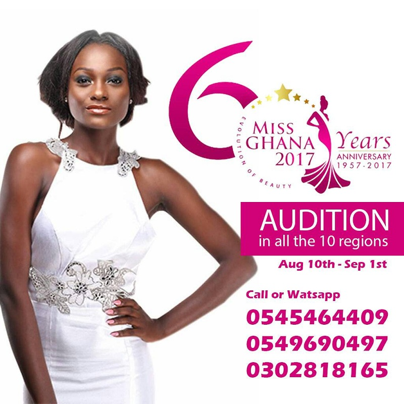 Miss Ghana 2017 Auditions Starts Tomorrow: Tamale Is First