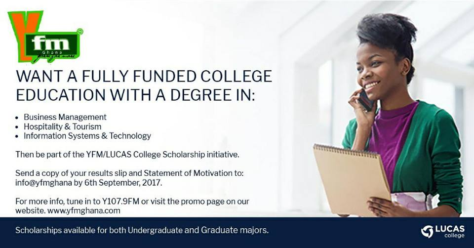 Do You Want a Fully Funded College Education?